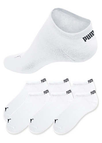 Pack of 6 Trainer Socks by Puma