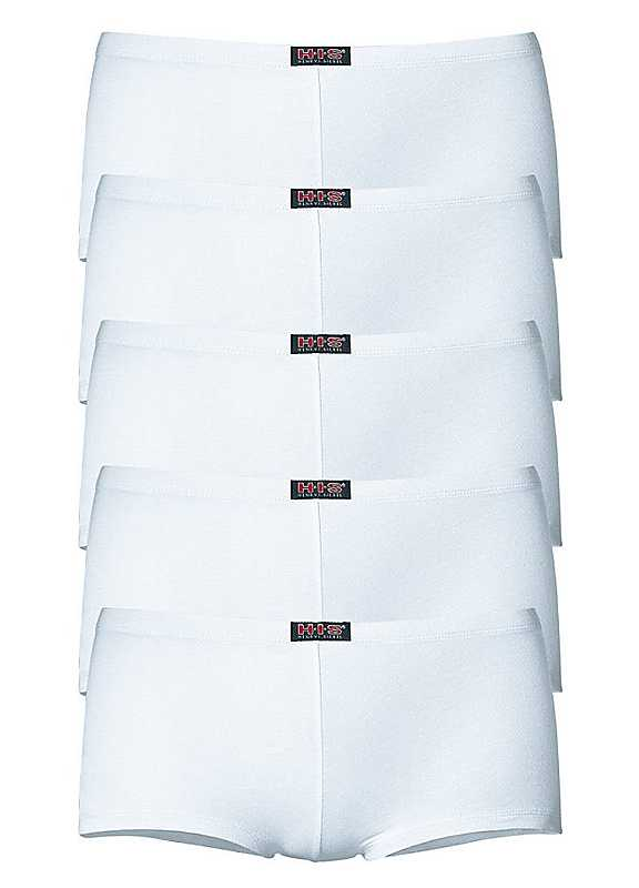 Pack of 5 Hipster Shorts by H.I.S