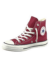 All Star Burgundy Hi Leisure Boots by Converse