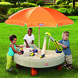 Builders Bay Sand &amp; Water Table by Little Tikes