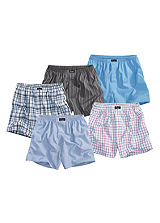 Pack of 5 Boxers by Le Jogger
