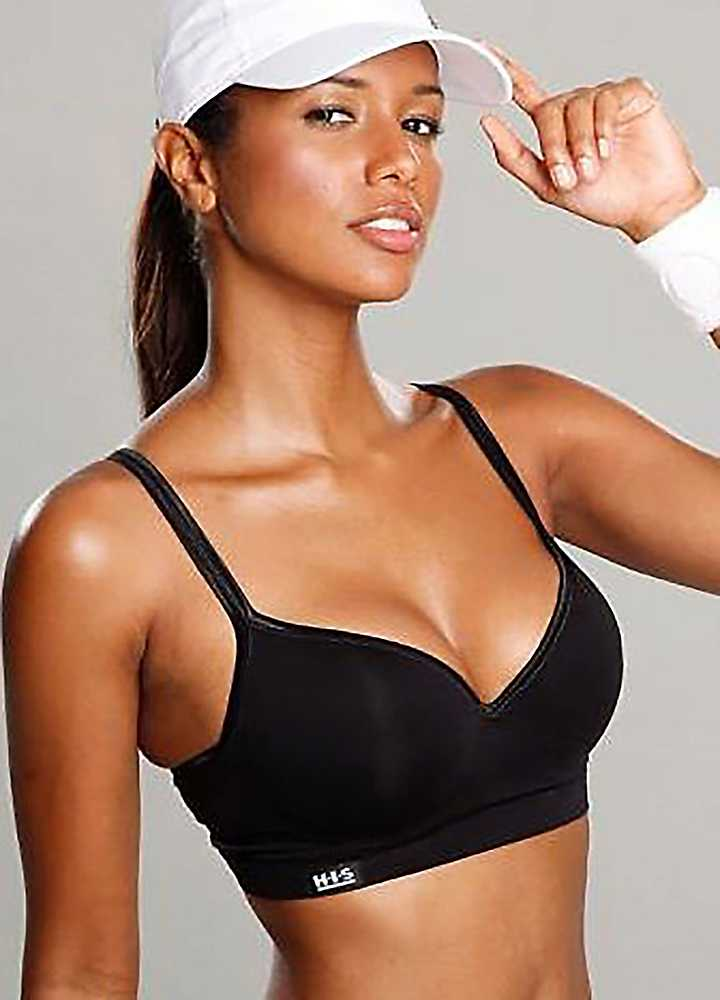 Push up Workout Bra Sports Push-up Bra by H.i.s